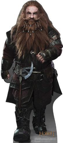 Gloin The Dwarf - The Hobbit Movie Cardboard Stand Up Cardboard Cutouts