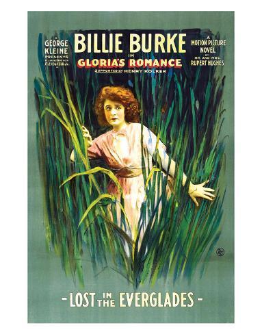 Gloria's Romance - 1916 I Impressão giclée
