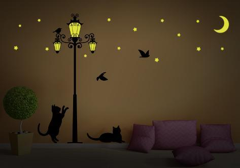 Glow In The Dark Street Light