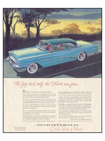 GM Buick - Roadmaster Stampa artistica
