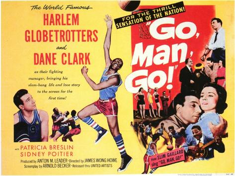 Go, Man, Go, 1954 Stampa artistica