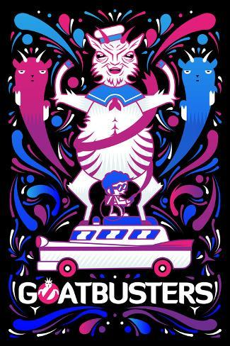 Goatbusters Poster