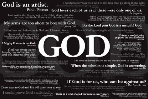 God Quotes Posters At Allposters Com