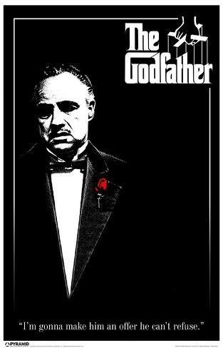 Godfather Black and White Impressão original