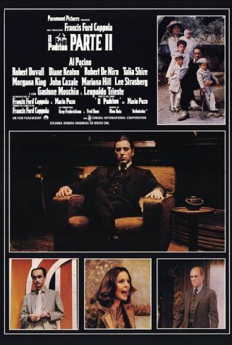 Godfather, Part 2 - Italian Style Poster