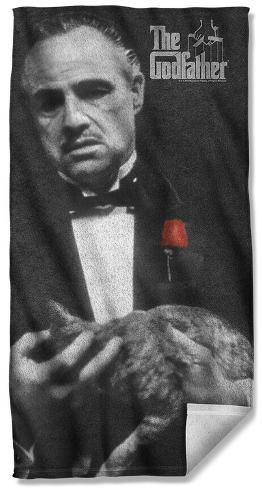 Godfather - Poster Beach Towel Beach Towel