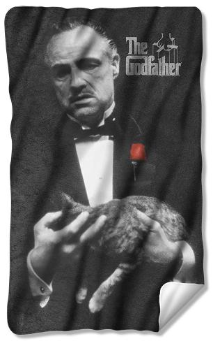 Godfather - Poster Fleece Blanket Fleece Blanket