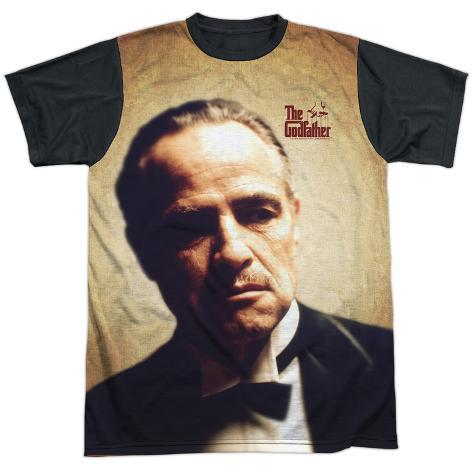 Godfather- Vito Corleone Black Back T-Shirt