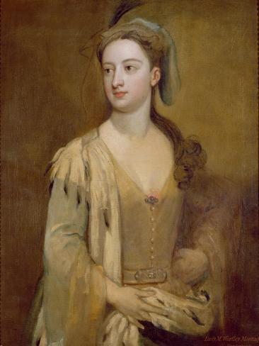 A Woman, Called Lady Mary Wortley Montagu, c.1715-20 Lámina giclée