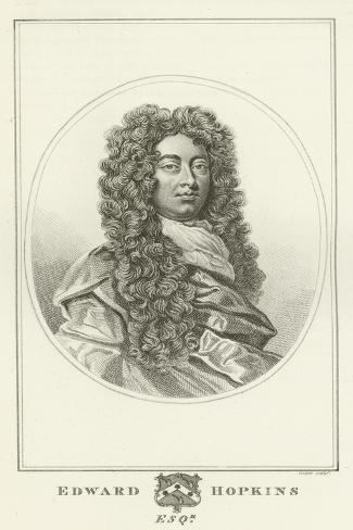 Edward Hopkins, Esquire Lámina giclée