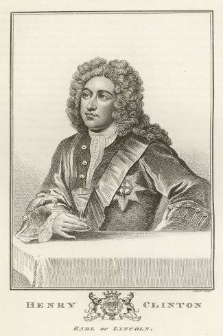 Henry Clinton, Earl of Lincoln Lámina giclée