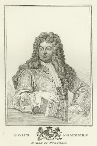 John Sommers, Baron of Evesham Impressão giclée
