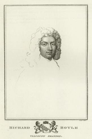 Richard Boyle, Viscount Shannon Lámina giclée