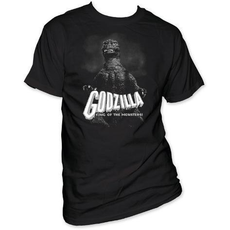 Godzilla - B&W King of the monsters T-Shirt