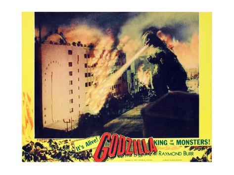 Godzilla, King of the Monsters!, 1956 Photo