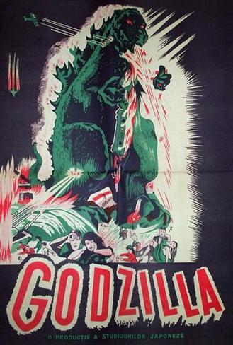 Godzilla, King of the Monsters - Romanian Style Poster