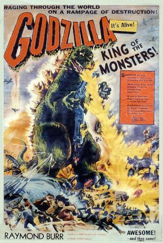 Godzilla, King of the Monsters Lámina maestra