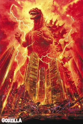 Godzilla, King of the Monsters Poster