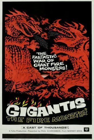 Godzilla's Counter Attack Poster