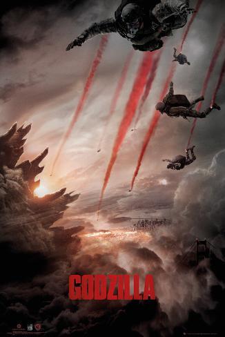 Godzilla - Skydive Poster