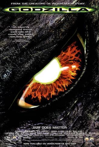 Godzilla (Video Release) Poster