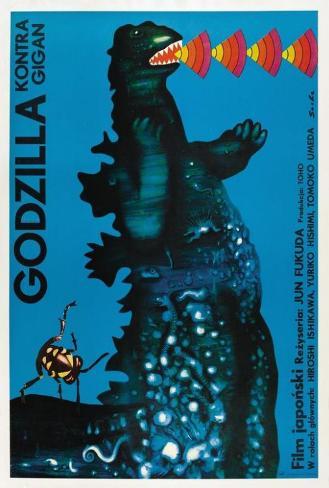 Godzilla vs. Gigan - Polish Style Póster
