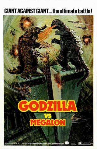 Godzilla vs Megalon Masterprint