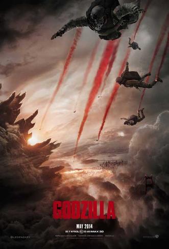Godzilla Pôster