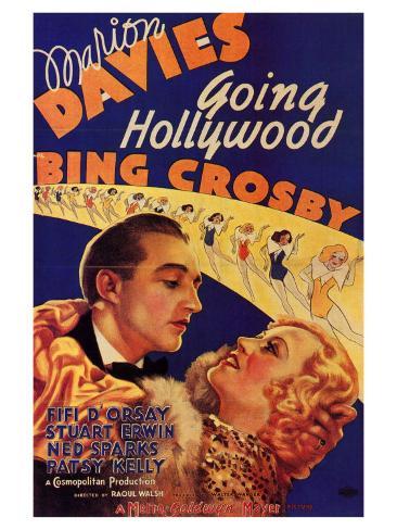 Going Hollywood, 1933 Art Print
