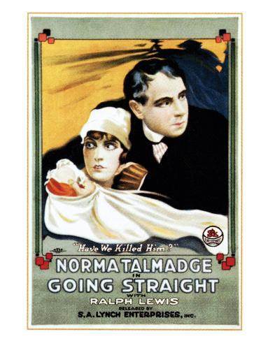 Going Straight - 1916 Giclee Print