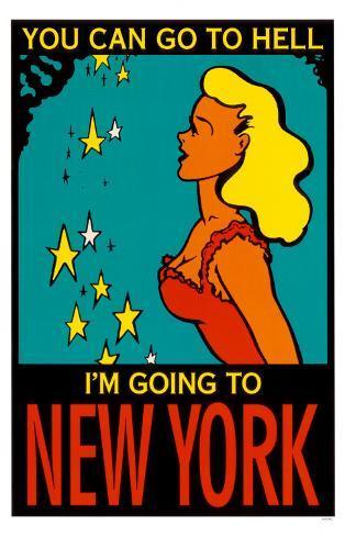 Going To New York Masterprint