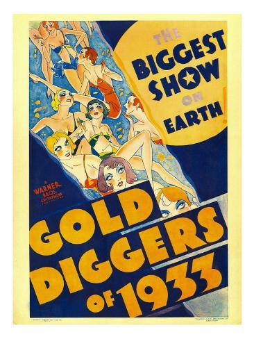 Gold Diggers of 1933, Window Card, 1933 Photo