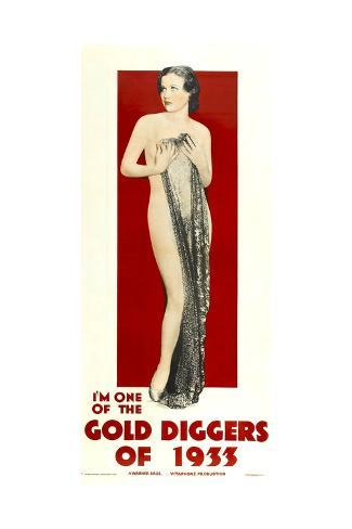 Gold Diggers of 1933 Premium Giclee Print