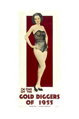 Gold Diggers of 1933 Art Print