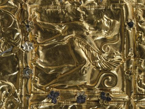 Gold Foil with Embossed Decoration from Delphi Giclee Print