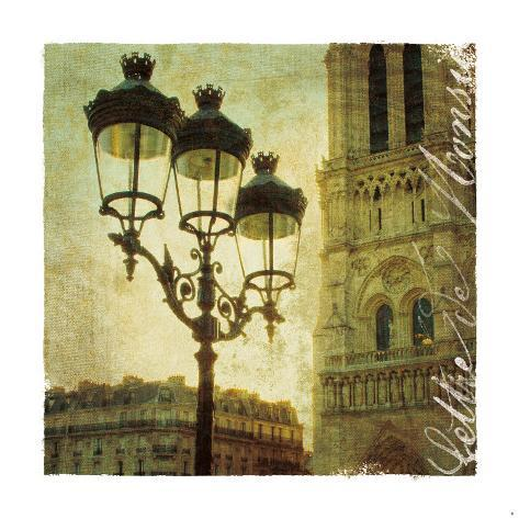 Golden Age of Paris IV Art Print