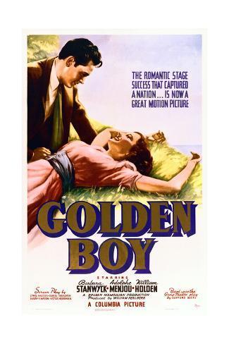 Golden Boy Konstprint