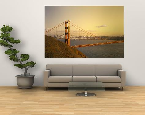 Golden Gate Bridge, San Francisco, California, USA Giant Art Print