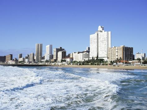 Golden Mile, Durban, South Africa, Africa Photographic Print