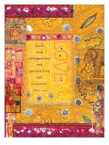 Golden Tapestry Giclee Print