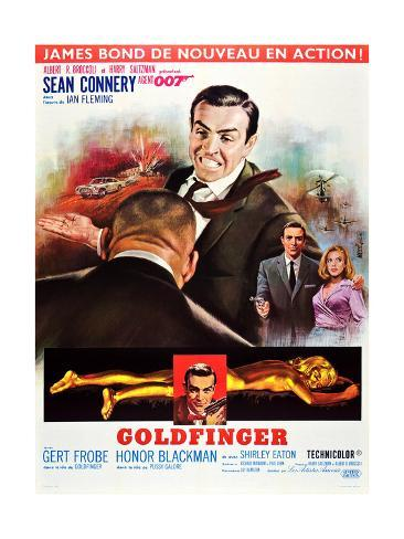 Goldfinger Impressão artística