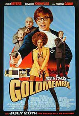 Goldmember Impressão artística emoldurada