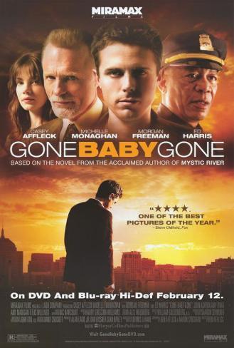 Gone Baby Gone Pôster