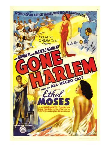 Gone Harlem, Ethel Moses, 1938 Photo