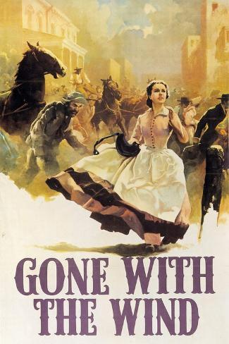 Gone With the Wind, 1939, Directed by George Cukor, Victor Fleming ジクレープリント
