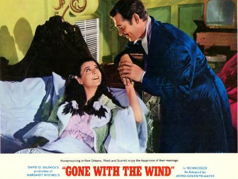 Gone With The Wind, 1939 Art Print