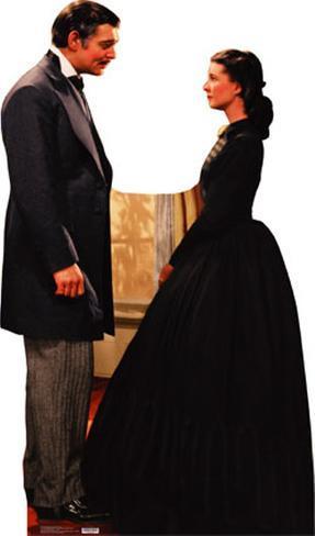 Gone With the Wind - Rhett Butler And Scarlett O'Hara Lifesize Standup Cardboard Cutouts