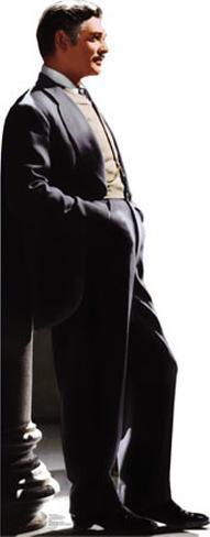 Gone With the Wind - Rhett Butler Lifesize Standup Pappfigurer