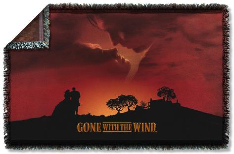 Gone With The Wind - Sunset Woven Throw Throw Blanket