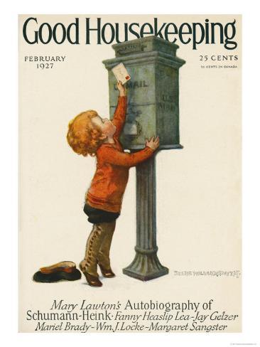 Good Housekeeping, February 1927 Art Print